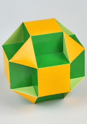 "Многогранник ""Малый кубо-кубо-октаэдр"""