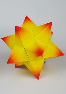 многогранник - Малый звёздчатый додекаэдрдодекаэдр