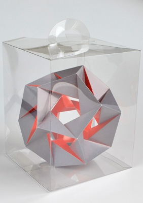 "Модель ""14-я звёздчатая форма икосаэдра"""