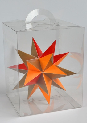 """Модель """"Большого звёздчатого додекаэдра"""""""