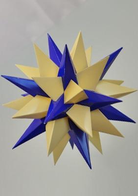 """Модель многогранника """"13-я звёздчатая форма икосо-додекаэдра"""""""