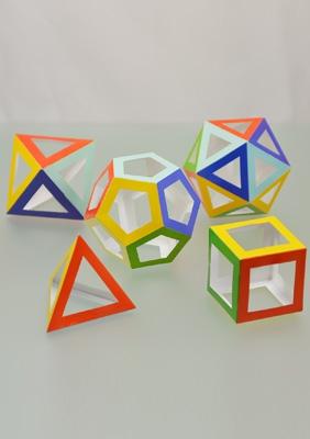 Модели правильных многогранников