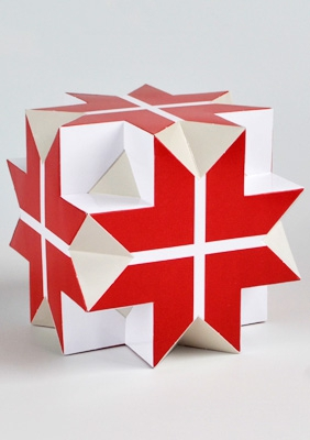 """Модель """"Большого кубо-кубо-октаэдра"""""""