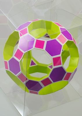 Ромбо-усечённый икосо-додекаэдр в форме тороида
