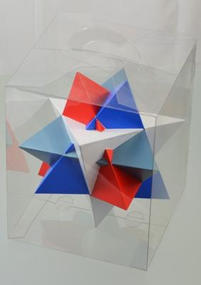 многогранник - Соединение 4-х тетраэдров