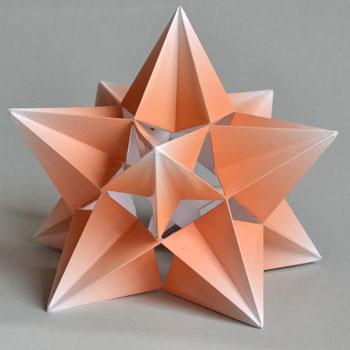 как сделать третью форму звездчатого икосаэдра что