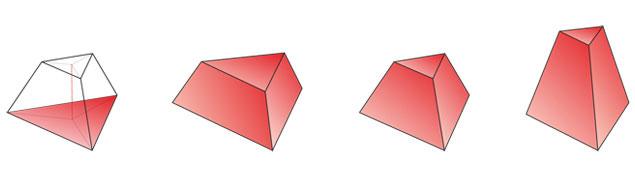 Как сделать усеченную пирамиду фото 901