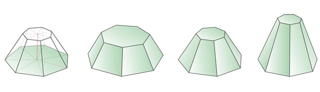 Как сделать усеченную пирамиду фото 966