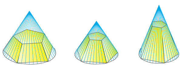Как сделать усеченную пирамиду фото 470